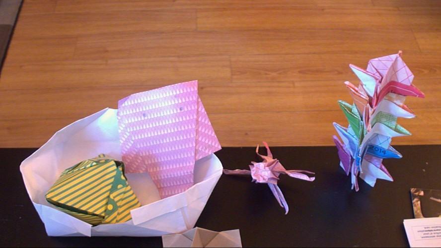 Origami! Origami! Everywhere!
